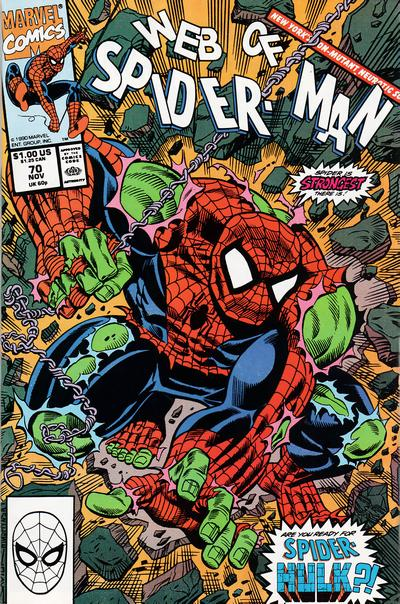 Web of Spider-Man Vol 1 70
