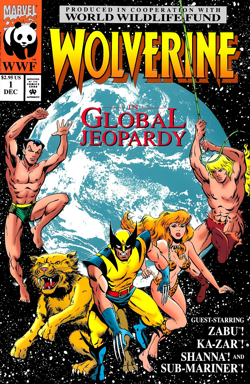 Wolverine: Global Jeopardy Vol 1 1