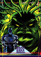 Kree from Marvel Universe Cards Series IV 0001