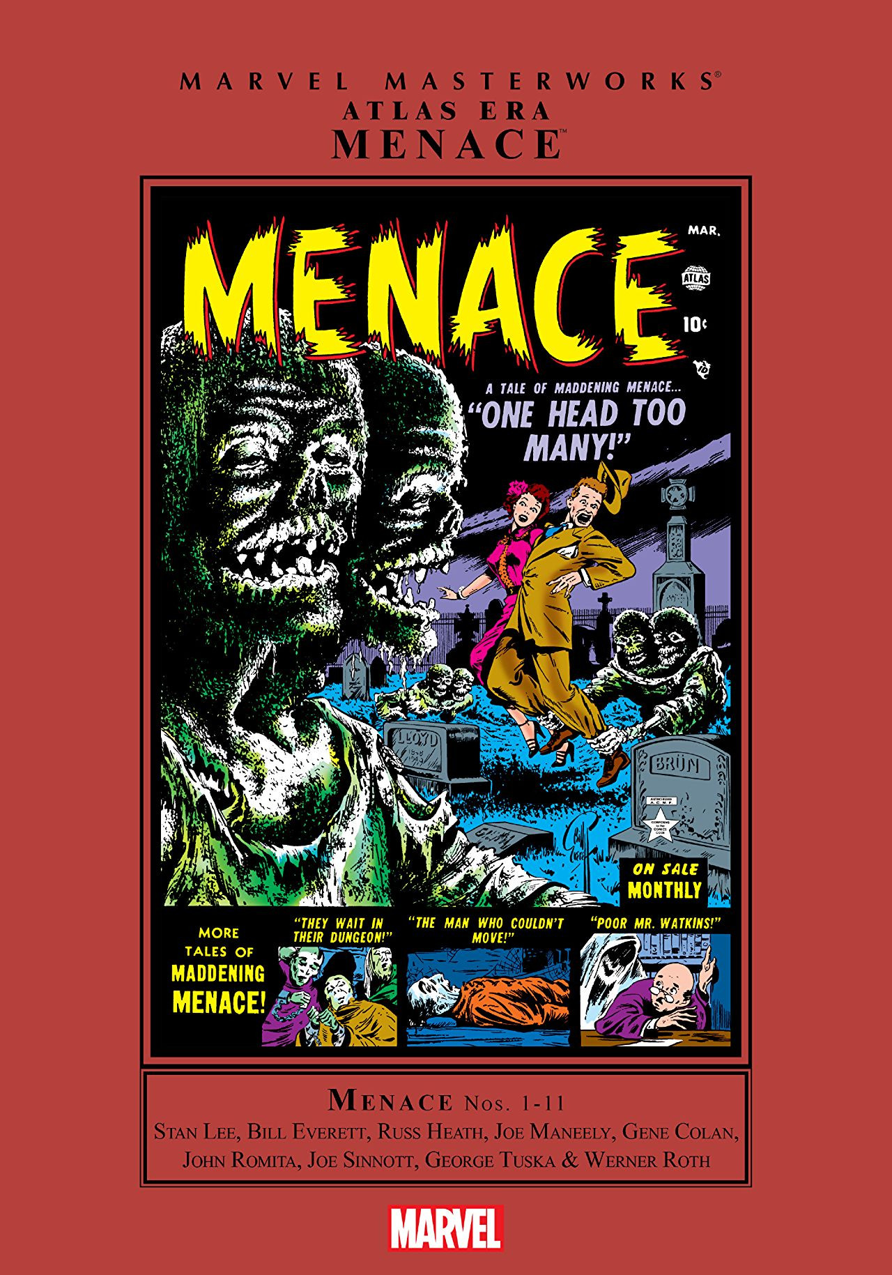 Marvel Masterworks: Atlas Era Menace Vol 1 1
