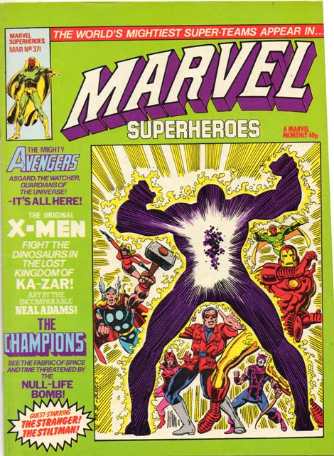 Marvel Super-Heroes (UK) Vol 1 371