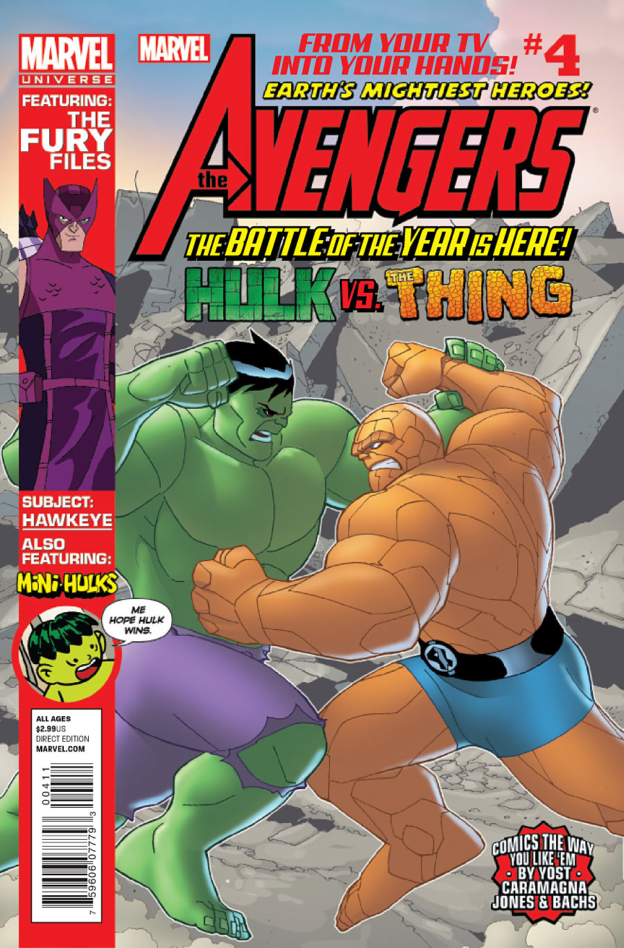 Marvel Universe: Avengers - Earth's Mightiest Heroes Vol 1 4