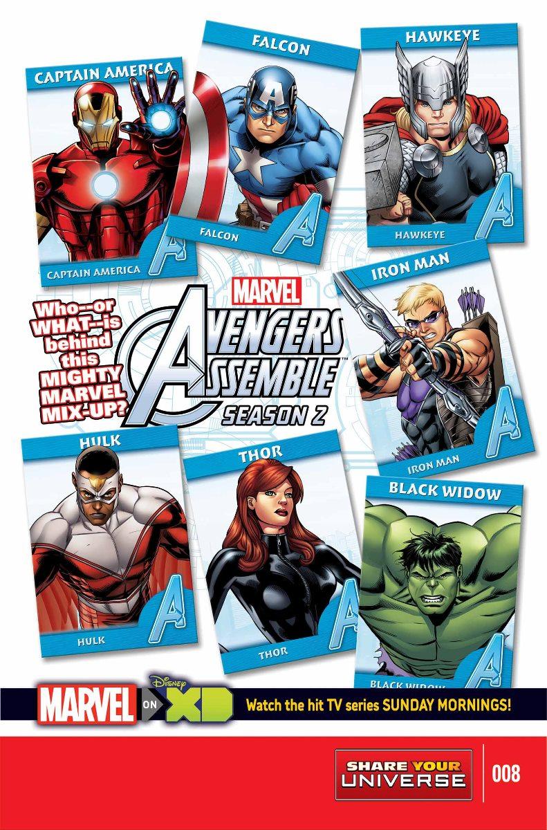 Marvel Universe Avengers Assemble Season Two Vol 1 8