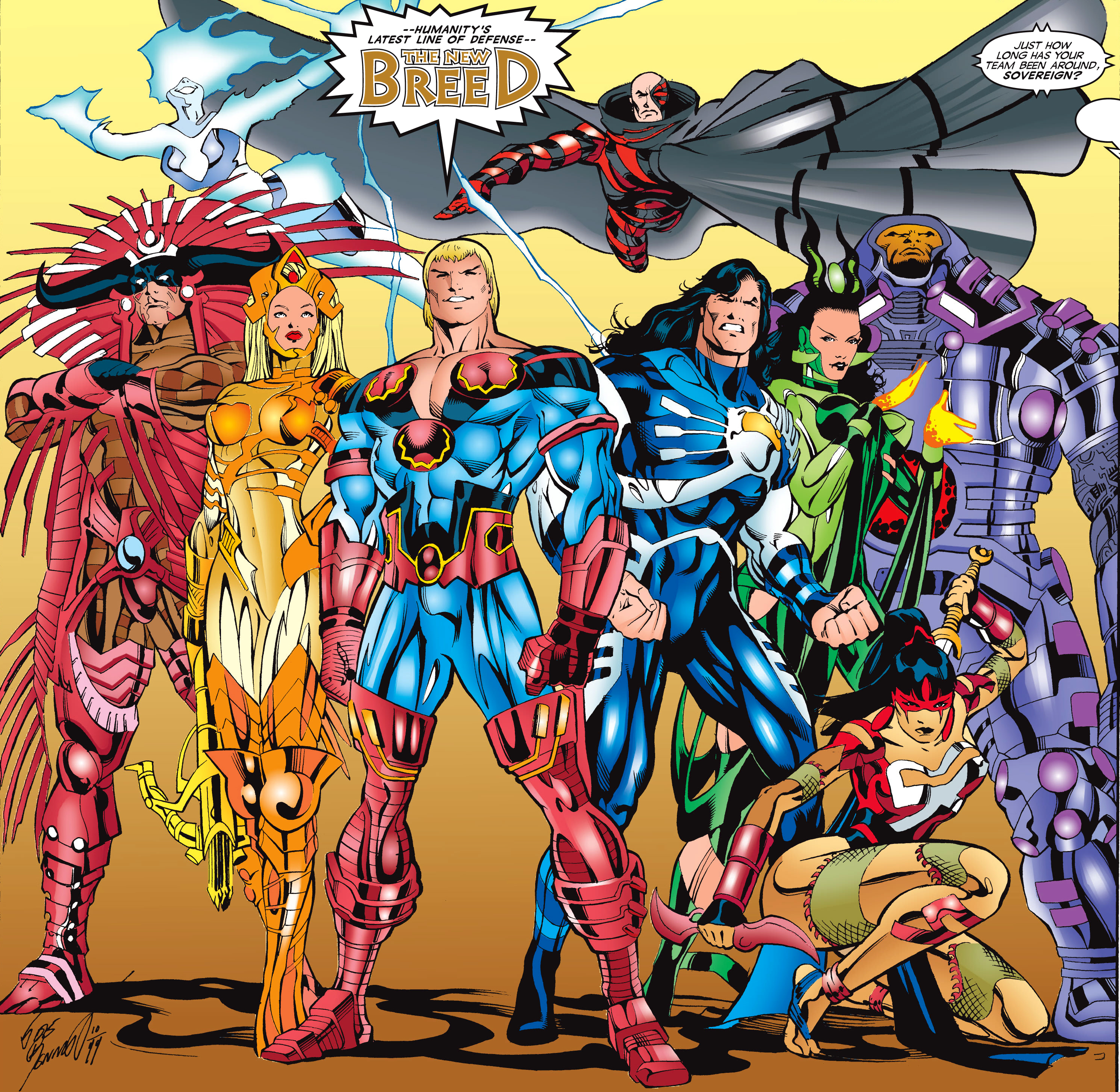 New Breed (Earth-616)/Gallery
