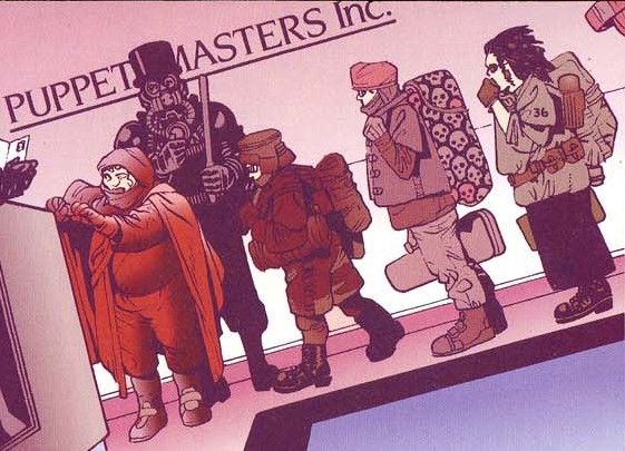 Puppet Masters Inc. (Earth-928)