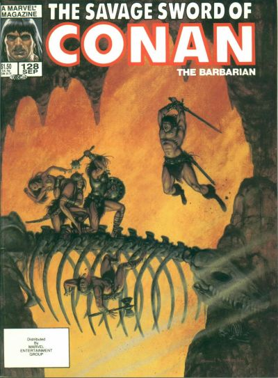 Savage Sword of Conan Vol 1 128