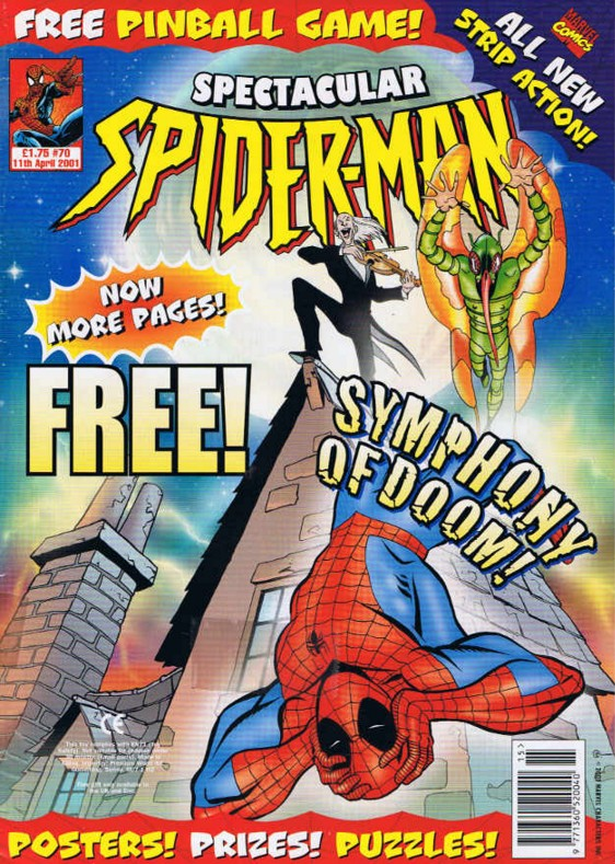Spectacular Spider-Man (UK) Vol 1 70