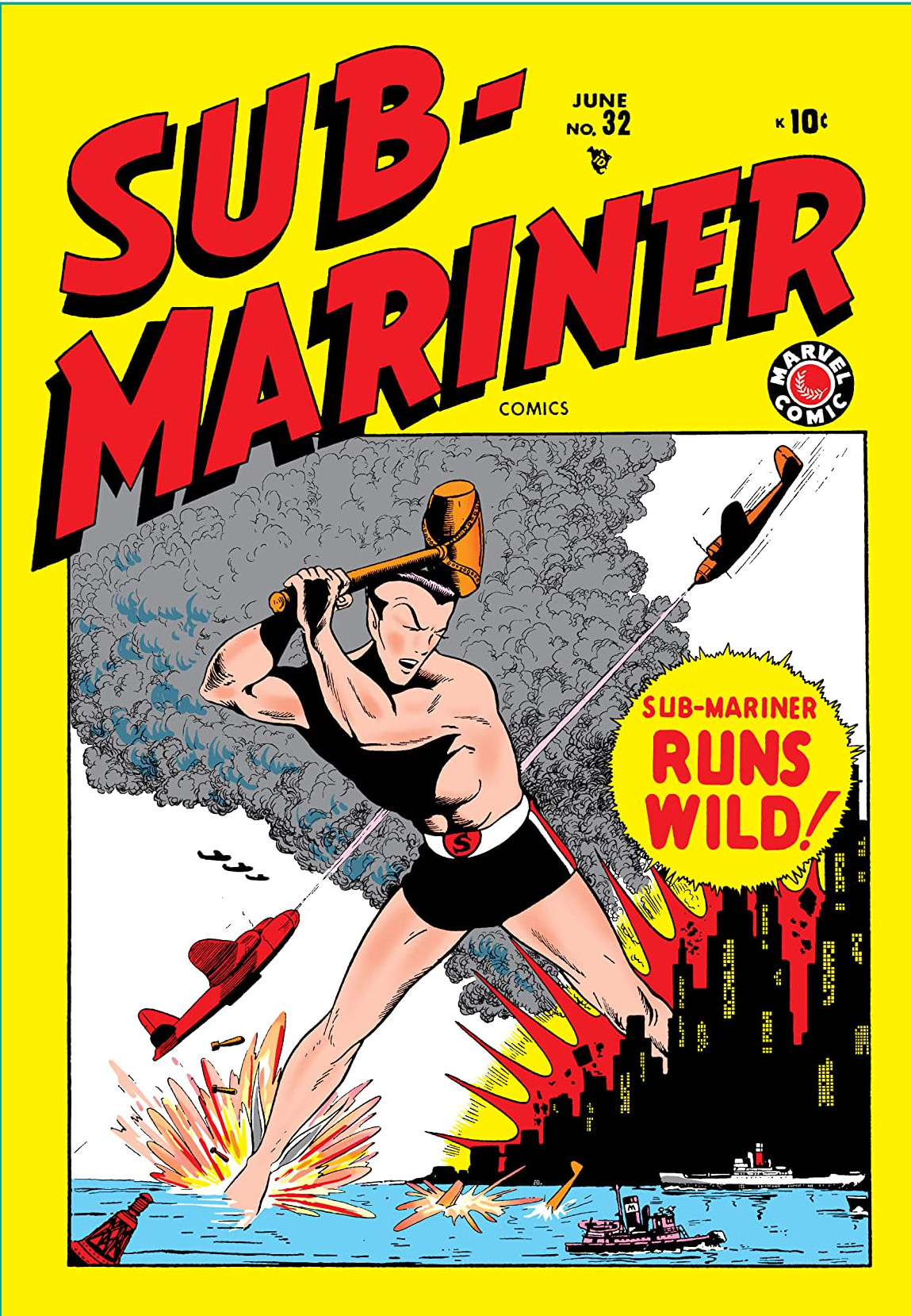 Sub-Mariner Comics Vol 1 32