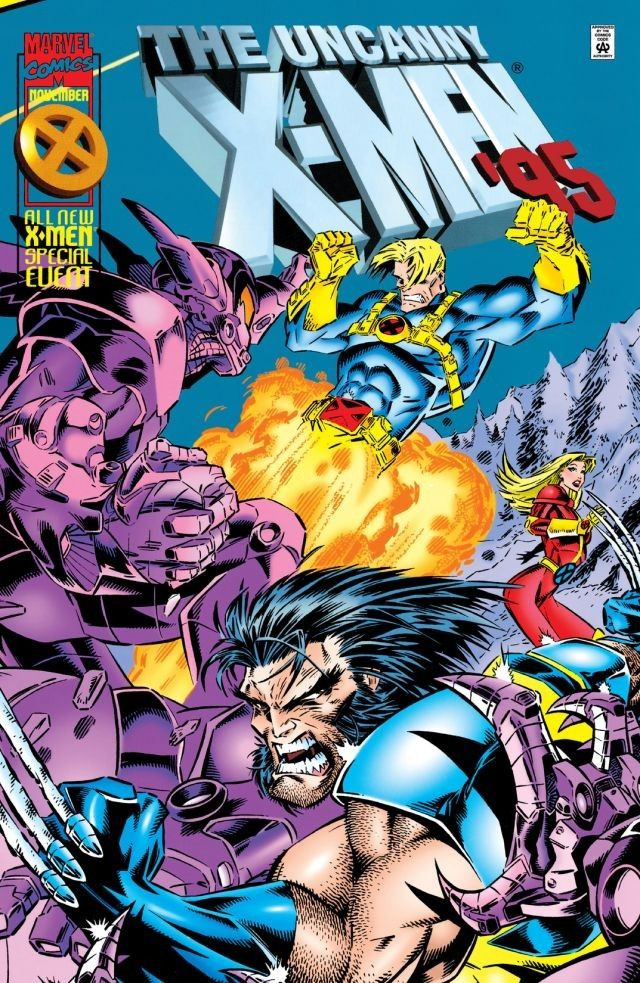 Uncanny X-Men Annual Vol 1 1995