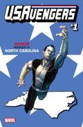 U.S.Avengers Vol 1 1 North Carolina Variant