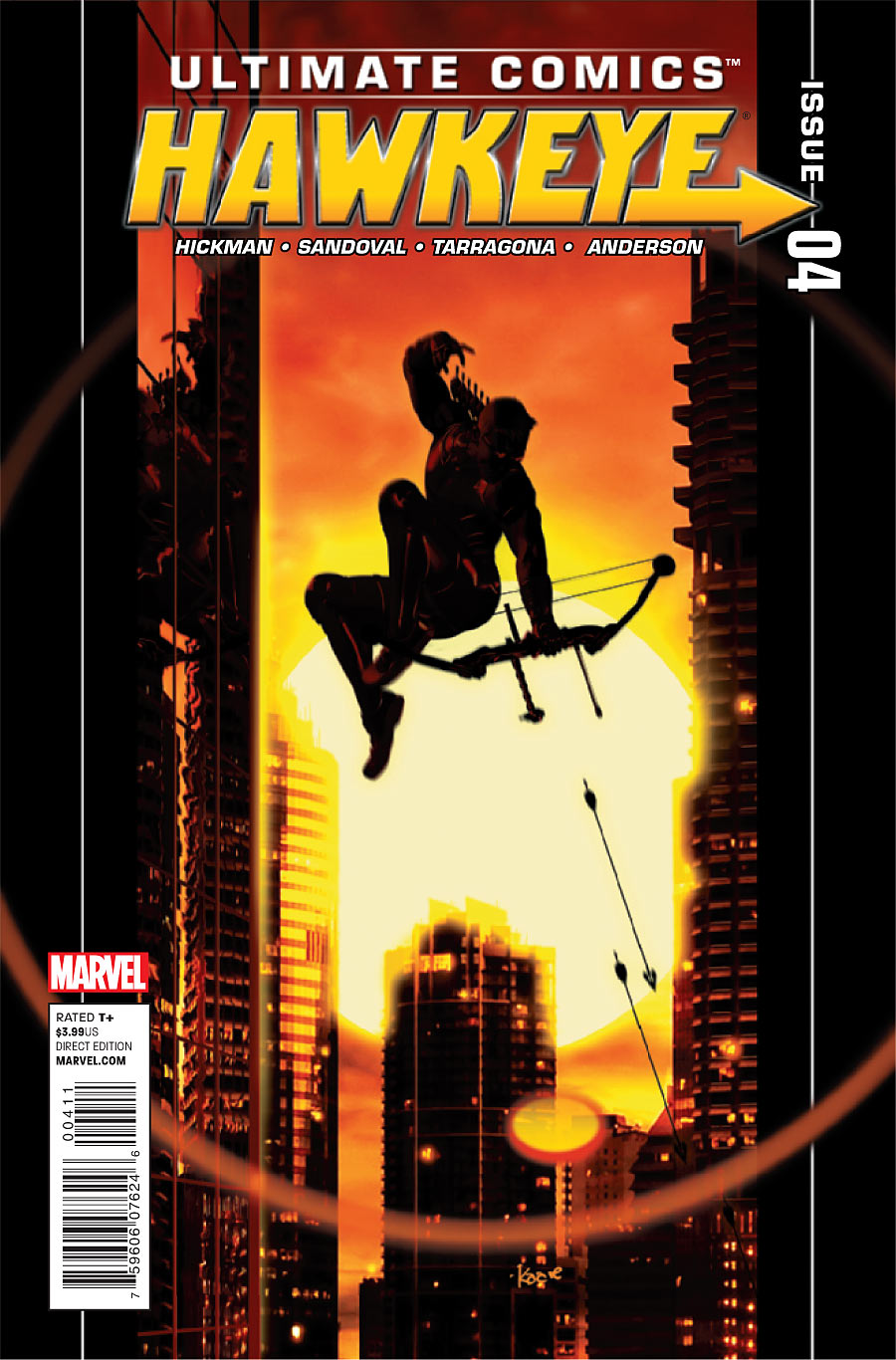 Ultimate Hawkeye Vol 1 4