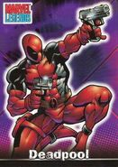 Wade Wilson (Earth-616) from Marvel Legends (Trading Cards) 0001
