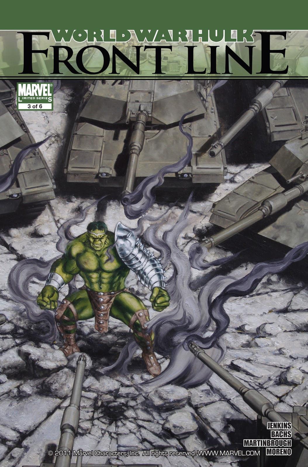 World War Hulk: Front Line Vol 1 3