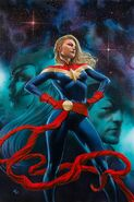 Captain Marvel Vol 10 22 Granov Variant Textless