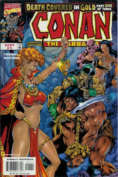 Conan Death Covered in Gold Vol 1