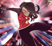 Jessica Drew (Earth-616) from Spider-Gwen Vol 2 7 Rodriguez Variant Textless