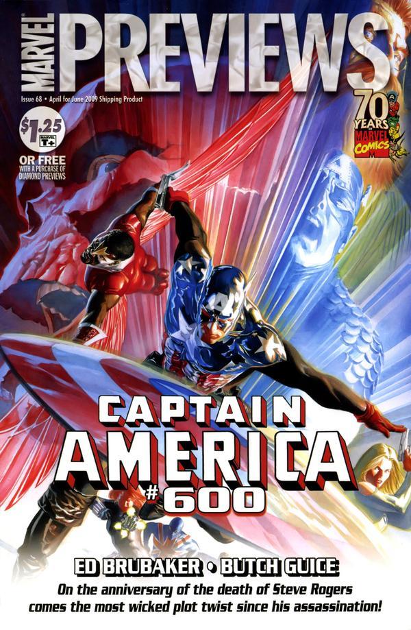 Marvel Previews Vol 1 68
