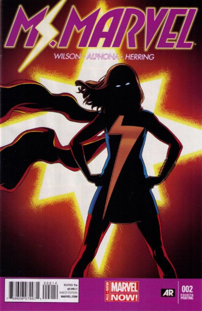 Ms. Marvel Vol 3 2 4th Printing Variant.jpg