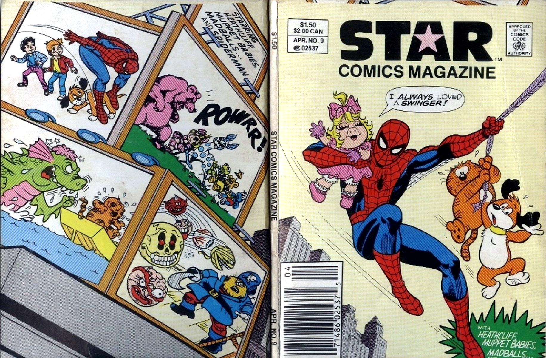 Star Comics Magazine Vol 1 9