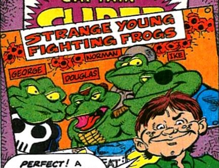 Strange Young Fighting Frogs (Earth-9047)