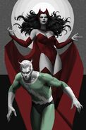 Avengers Origins The Scarlet Witch & Quicksilver Vol 1 1 Textless