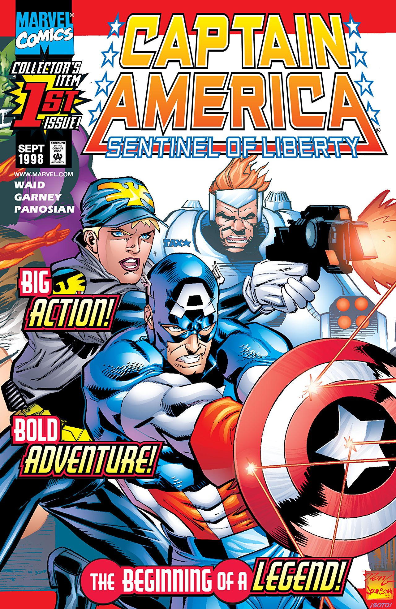 Captain America: Sentinel of Liberty Vol 1 1