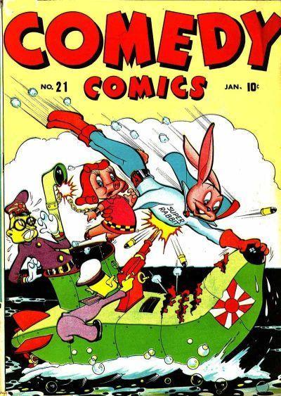 Comedy Comics Vol 1 21