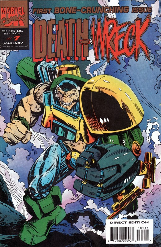 Death Wreck Vol 1 1