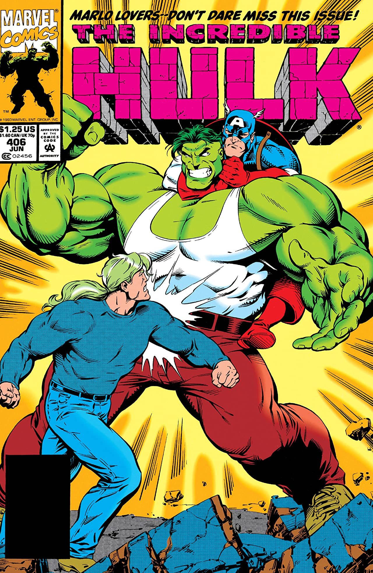 Incredible Hulk Vol 1 406