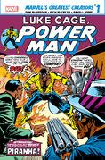 Marvel's Greatest Creators Luke Cage, Power Man - Piranha! Vol 1 1