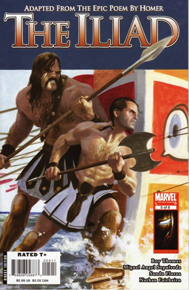 Marvel Illustrated: The Iliad Vol 1 5