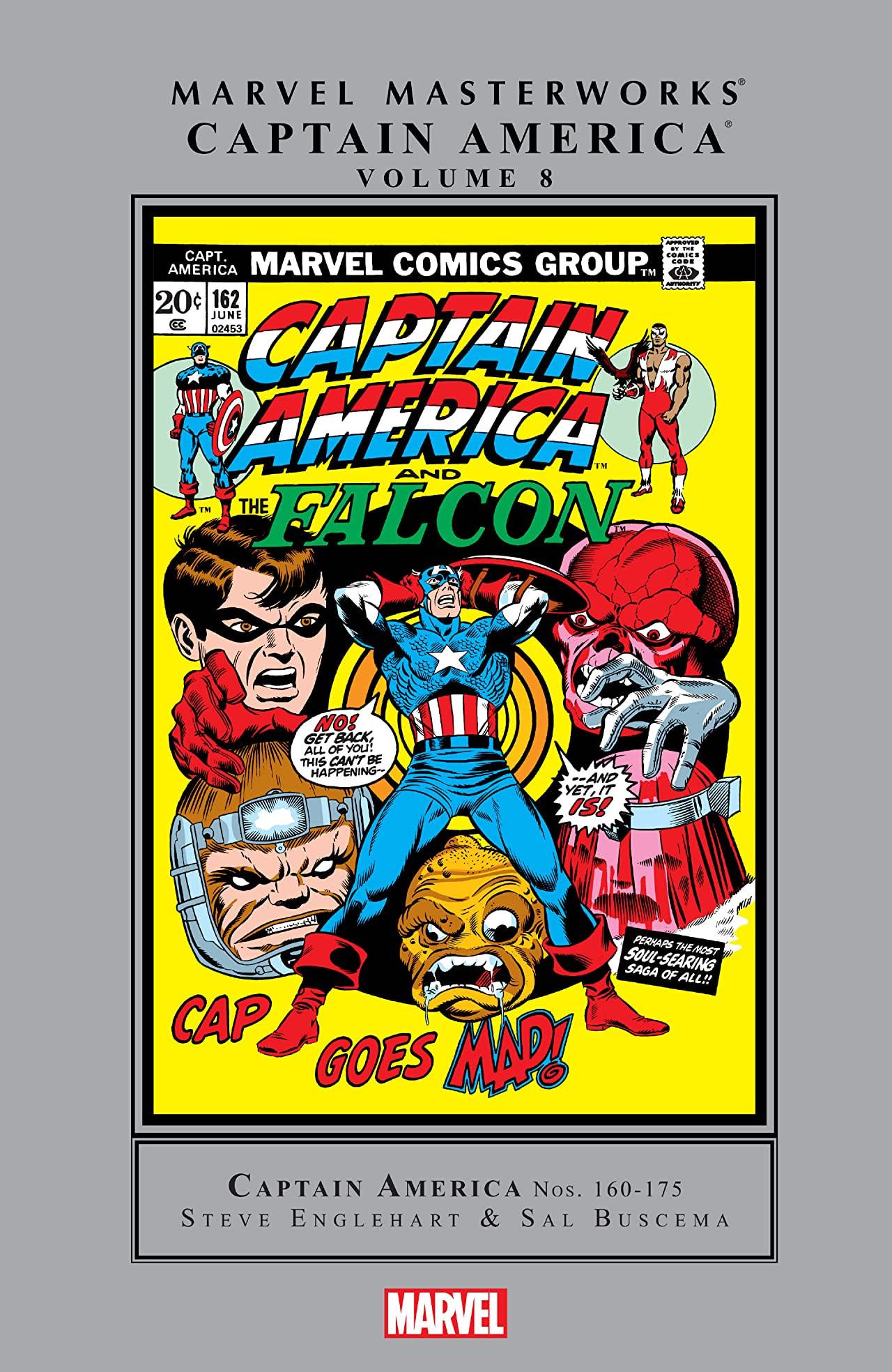 Marvel Masterworks: Captain America Vol 1 8