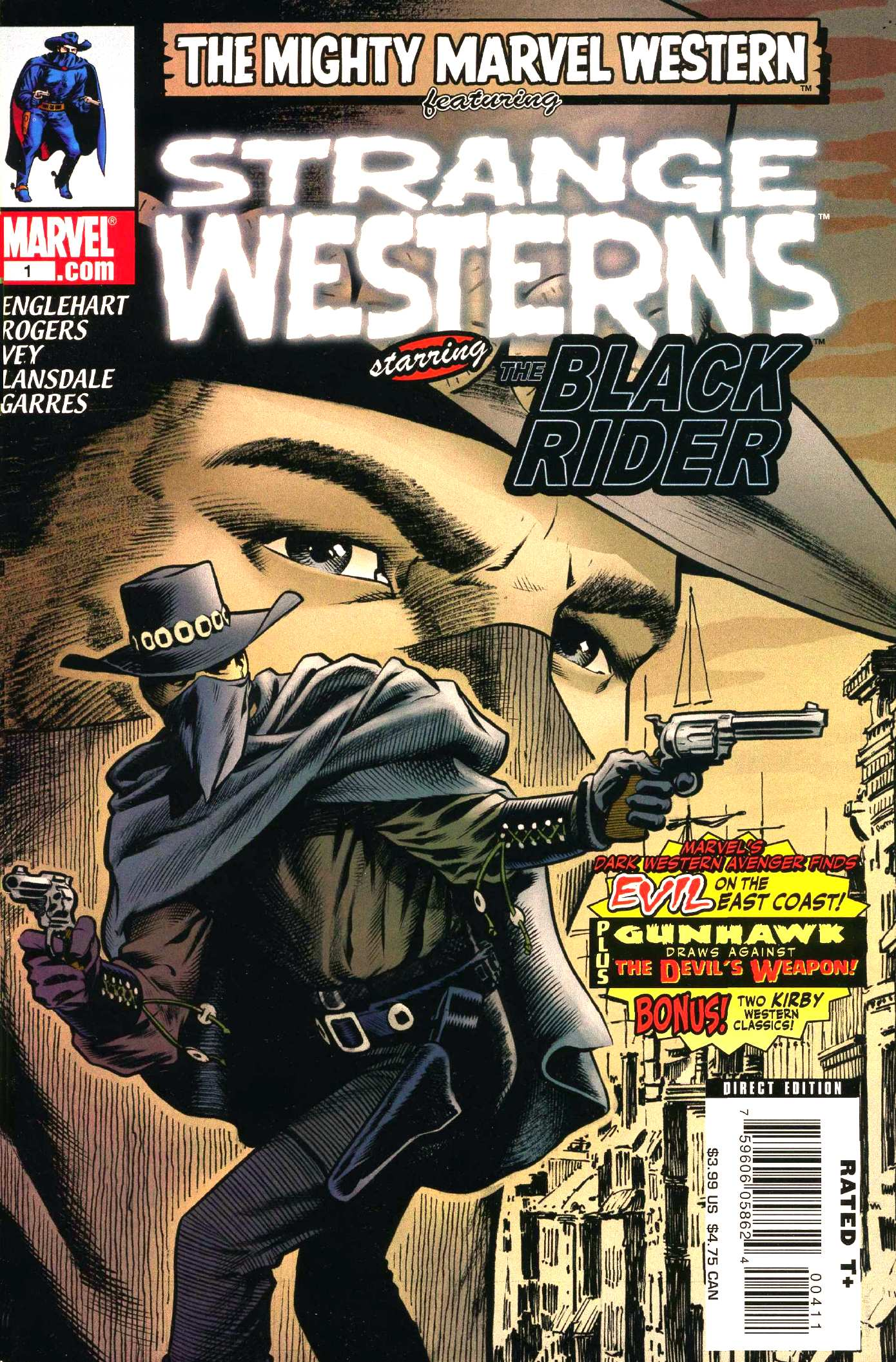 Marvel Westerns: Strange Westerns Starring the Black Rider Vol 1 1