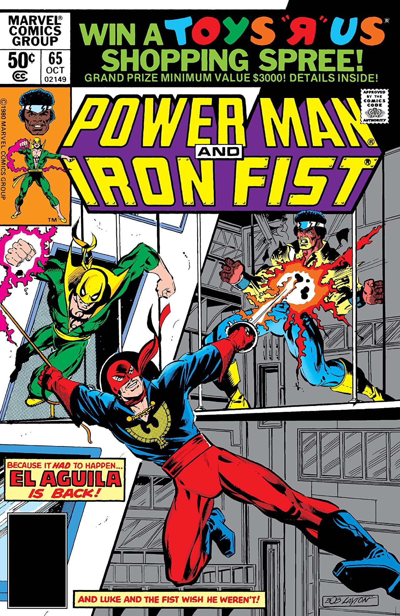Power Man and Iron Fist Vol 1 65