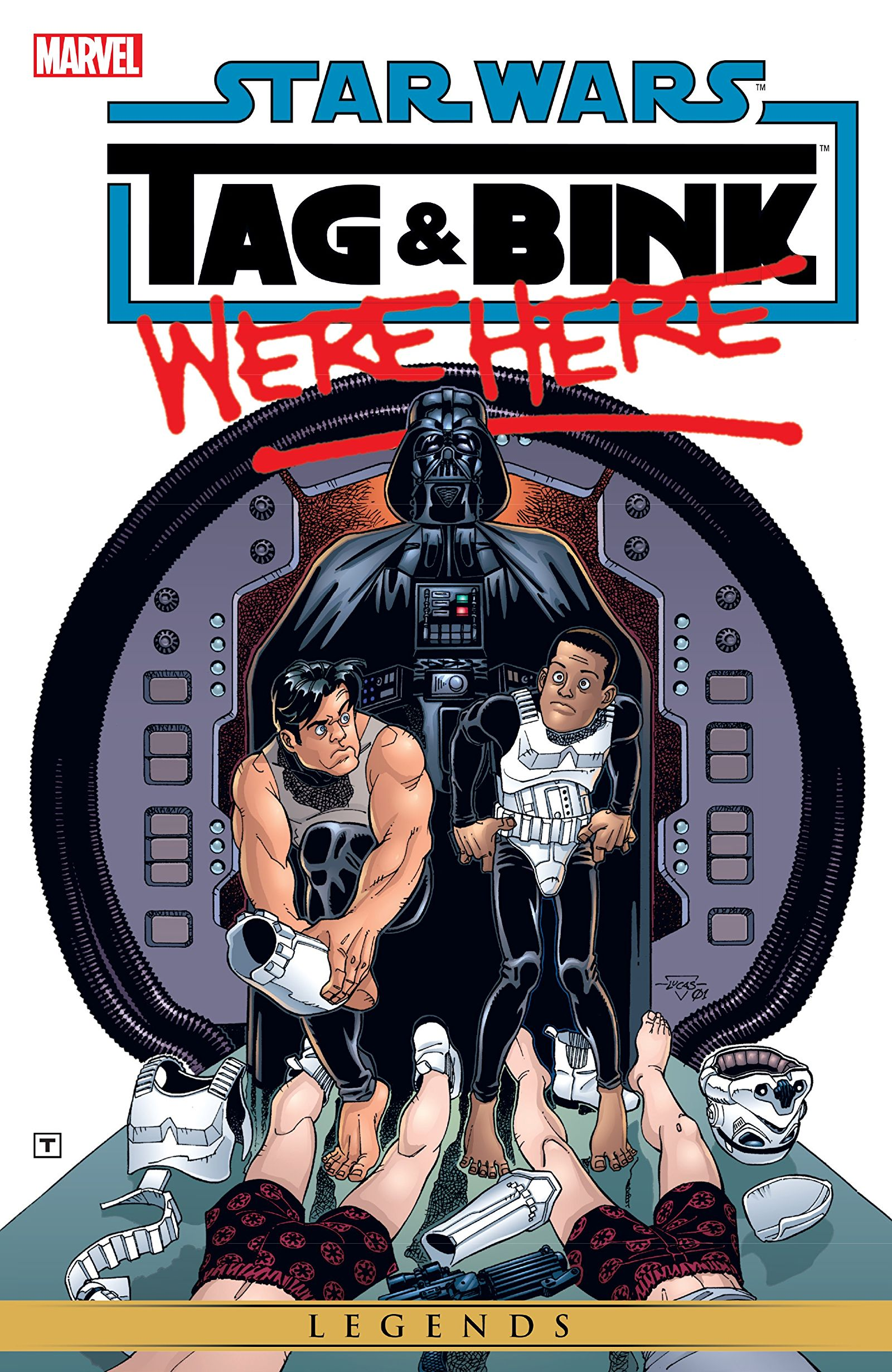 Star Wars: Tag & Bink Were Here Vol 1 1