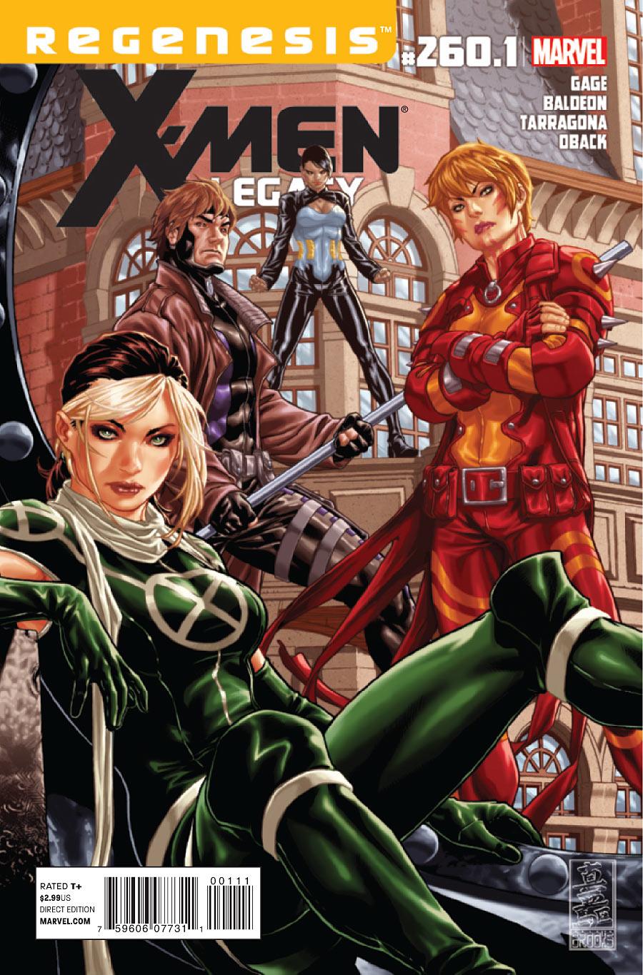 X-Men: Legacy Vol 1 260.1