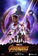 Avengers Infinity War poster 008