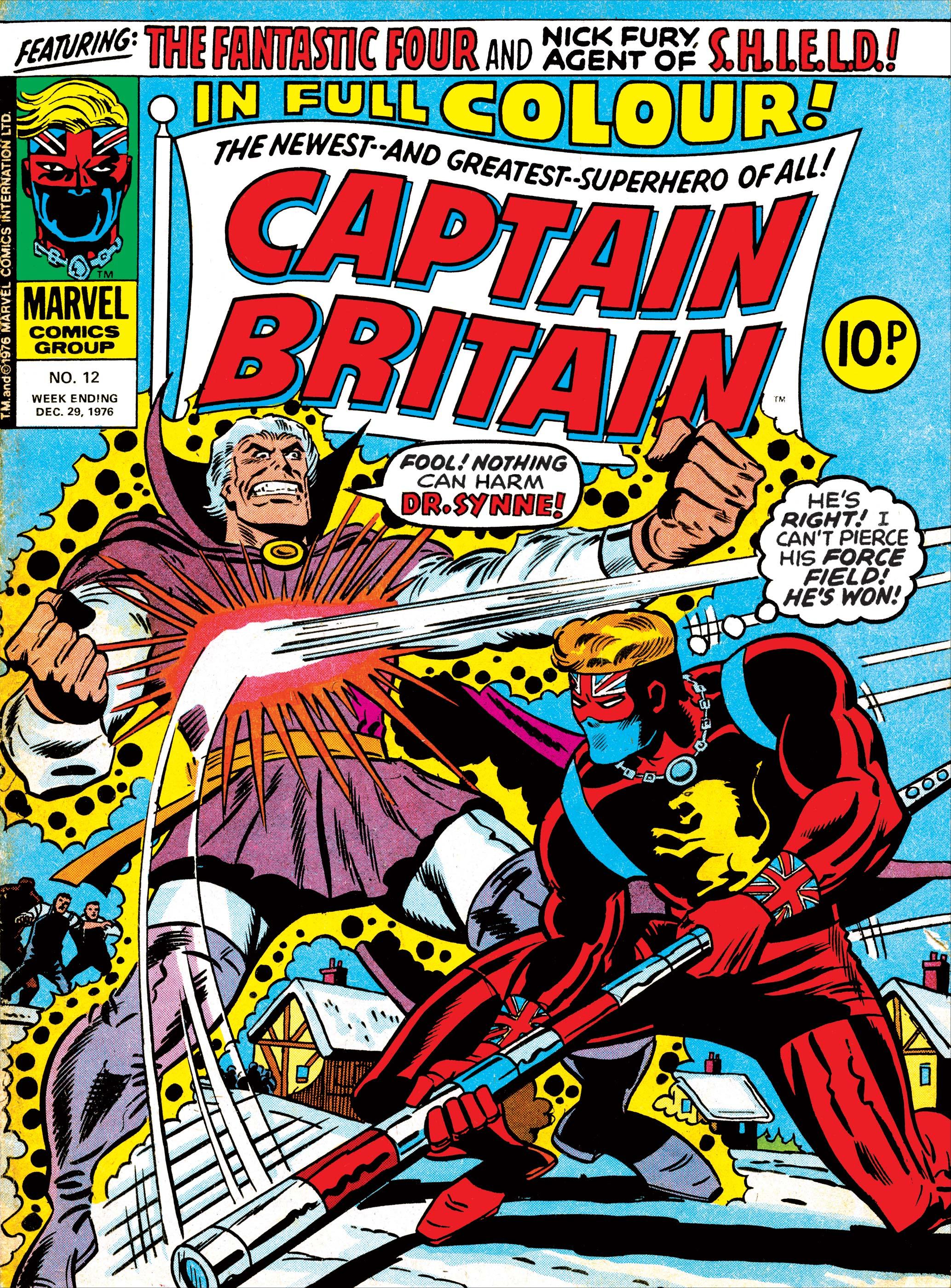 Captain Britain Vol 1 12