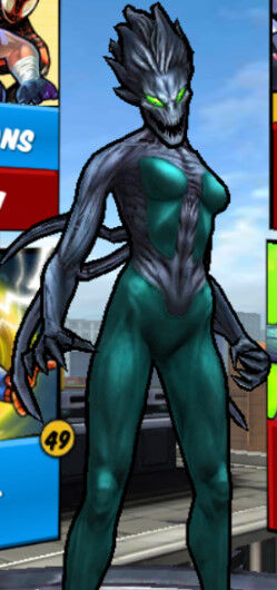 Claire Dixon (Earth-TRN461) from Spider-Man Unlimited (video game) 002.jpg