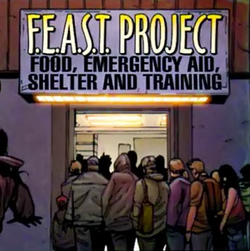 Food, Emergency Aid, Shelter and Training (Earth-616) from Amazing Spider-Man Vol 1 546 001.png