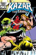 Ka-Zar the Savage Vol 1 21