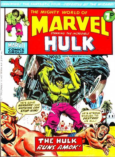 Mighty World of Marvel Vol 1 83