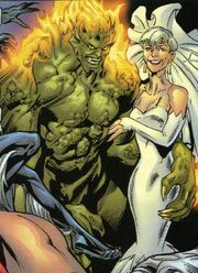 Norman Osborn (Earth-Unknown) and Maybelle Parker (Earth-Unknown) from Ultimate Spider-Man Vol 1 70 001.jpg