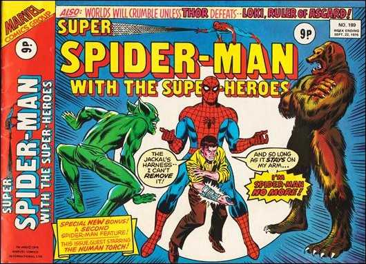 Super Spider-Man with the Super-Heroes Vol 1 189