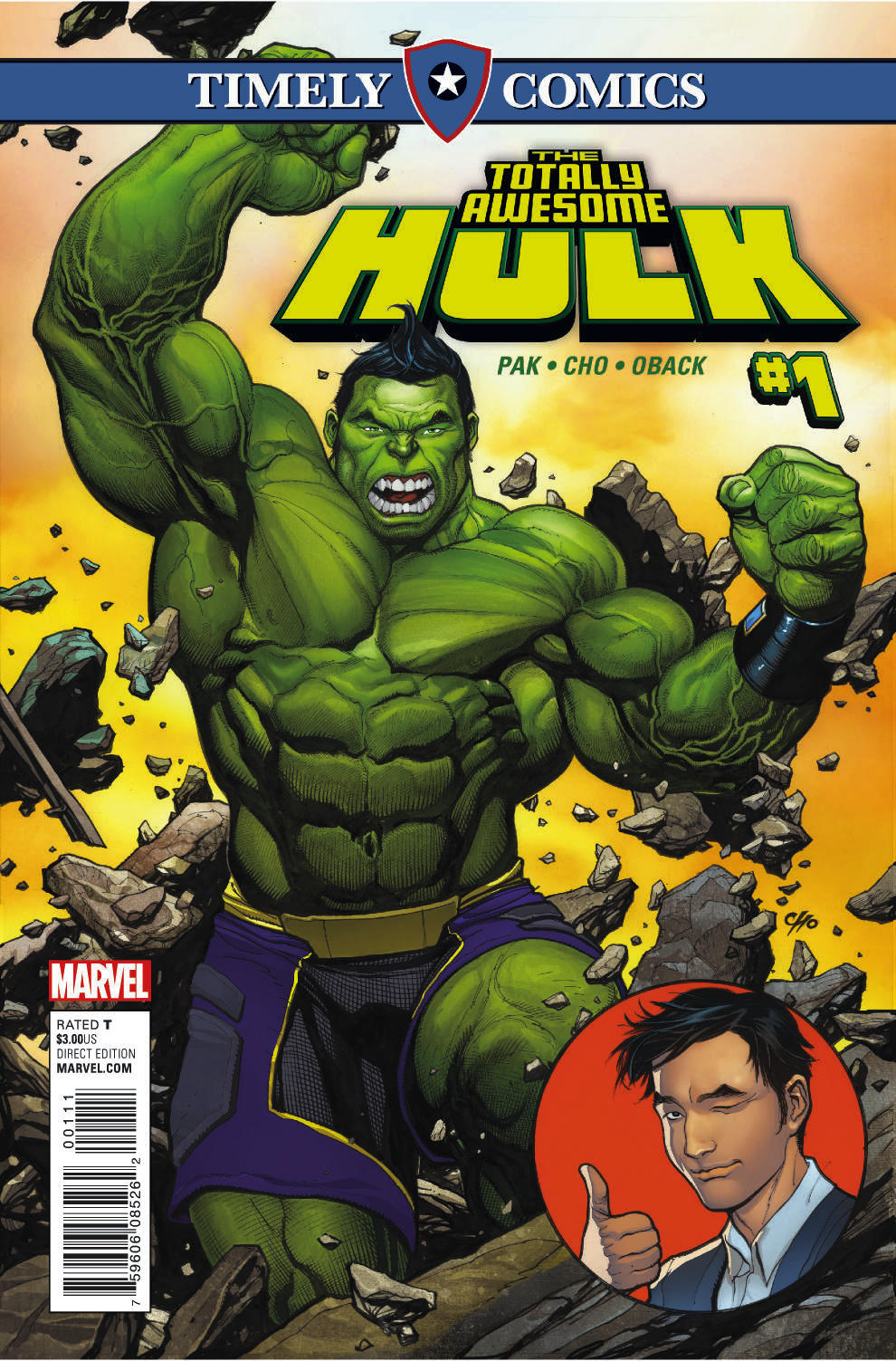 Timely Comics: Totally Awesome Hulk Vol 1
