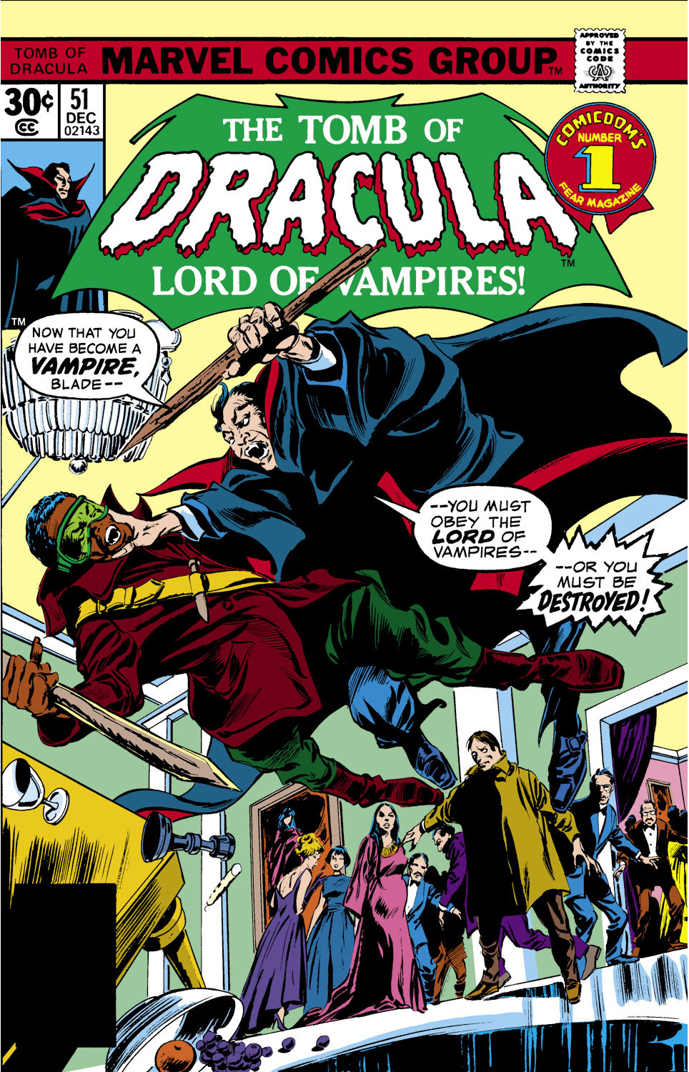 Tomb of Dracula Vol 1 51