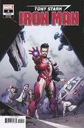 Tony Stark Iron Man Vol 1 4 Opeña Variant