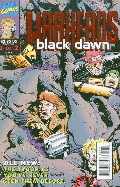 Warheads Black Dawn Vol 1