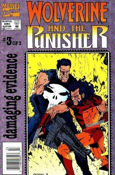 Wolverine and The Punisher: Damaging Evidence Vol 1 3