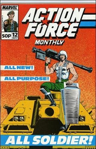 Action Force Monthly Vol 1 12